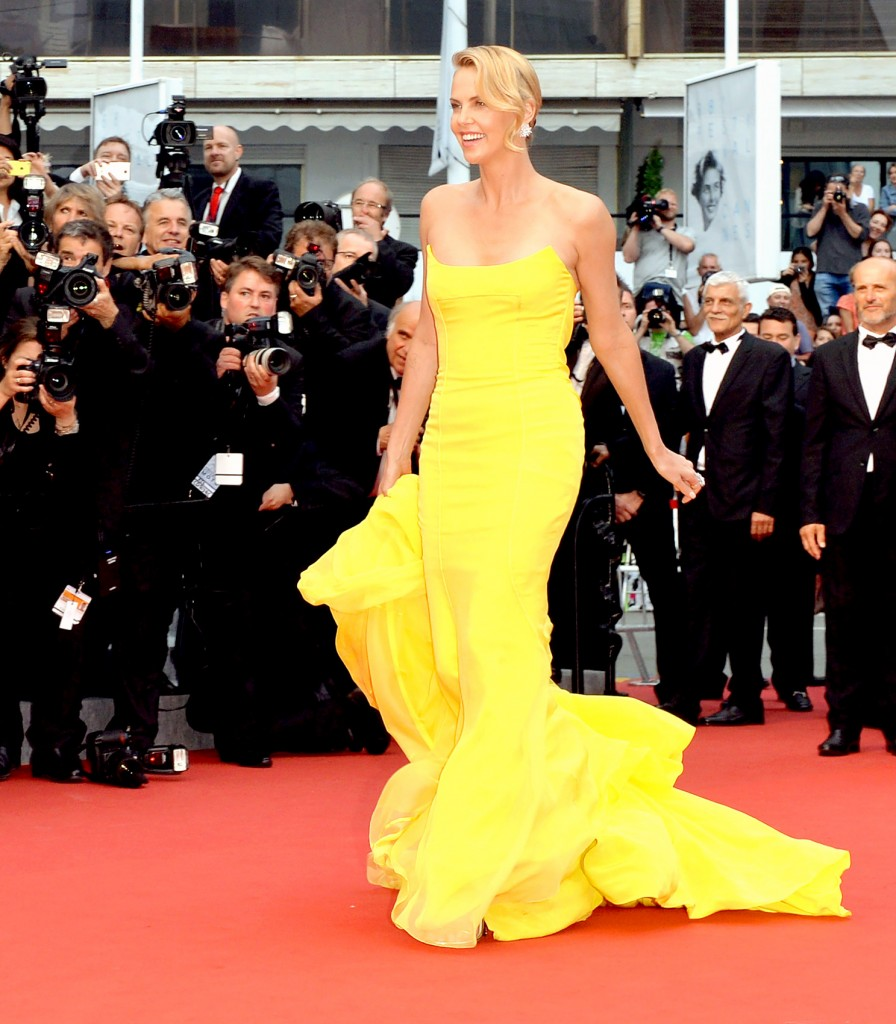 Cannes.La top 5 delle Star-Charlize Theron-Dior Couture
