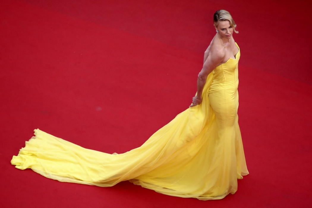 Cannes Cannes.La top 5 delle star-Charlize Theron-Dior2015. La top ten delle Star